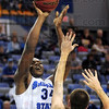 Sky Walker: Myles Walker take a shot during game action against Eastern Illinois Friday evening at Hulman Center.