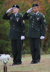 21 Gun Salute, Staff SGT Steffey and PFC Jose Rodriguez