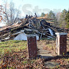 Razed; The historic Clarksville Illinois house was recently reduced to a pile of rubble without fanfare.
