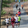 Trail run: Runners navigate through Hawthorne Park Saturday morning participating in the Indiana Fall Classic 10K.