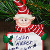 Tribune-Star/Jim Avelis<br /> Too young: An elf ornament remembers Collin Walker, one of several on the Christmas trees at the Ribbon of Hope.