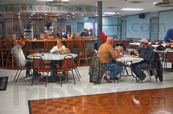 Remodeled: The Wayne Newton Post 346 bar area and dance floor have been remodeled since the summer fire.