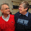 Tribune-Star/Jim Avelis<br /> Cross county matchup: Jim and Mary Add Baker got to know each other back when Rose-Hulman was still Rose Polytechnic Institute.