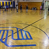 Tribune-Star/Jim Avelis<br /> Well used: One of the gyms at the currrent Boy's and Girl's Club  hosts basketball practice for several teams at once Monday after school.