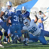 Tribune-Star/Jim Avelis<br /> Teamwork: Indiana State football practice time this week will focus on preparations for North Dakota State.