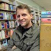 "Tribune-Star/Jim Avelis<br /> 20 years: Todd Nation is closing his downtown Terre Haute store ""Book Nation"" . After the brick and mortar store at 675 Wabash Avenue closes its doors in January, Nation will continue to sell books online for his business and institutional customers from his upstairs office."