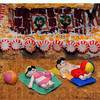 Tribune-Star/Jim Avelis<br /> Aruba, Jamaica: Century 21, winner of last years' gingerbread house decorating contest, went south in their theme this year.