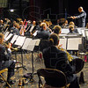 USAF Band: Members of the USAF Band perform at Terre Haute South Tuesday evening.
