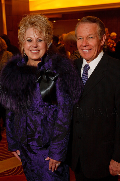 (Denver, Colorado, Nov. 1, 2011)<br /> Judy and Charlie McNeil.  The 2011 Brass Ring Luncheon, benefiting The Guild of the Children's Diabetes Foundation at Denver, at the Denver Marriott City Center in Denver, Colorado, on Tuesday, Nov. 1, 2011.<br /> STEVE PETERSON