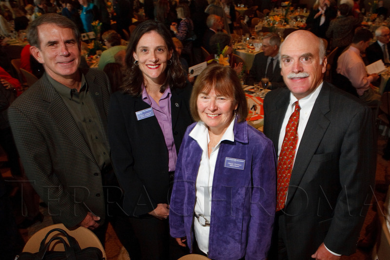 "(Denver, Colorado, Nov. 9, 2011)<br /> Alzheimer's Association board members:  Chris Binkley, Sarah Lorance (Alzheimer's Association incoming board chair), Margy Christian, and Fred Wolfe.  The ""2011 Memories Lost & Found Luncheon,"" benefiting the Alzheimer's Association of Colorado, at The Denver Center for the Performing Arts, Seawell Ballroom, in Denver, Colorado, on Wednesday, Nov. 9, 2011.<br /> STEVE PETERSON"