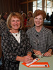 "(Denver, Colorado, Nov. 9, 2011)<br /> Sandy Bainbridge and Sue Gubsar.  The ""2011 Memories Lost & Found Luncheon,"" benefiting the Alzheimer's Association of Colorado, at The Denver Center for the Performing Arts, Seawell Ballroom, in Denver, Colorado, on Wednesday, Nov. 9, 2011.<br /> STEVE PETERSON"
