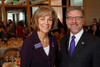 "(Denver, Colorado, Nov. 9, 2011)<br /> Linda Mitchell and Harry Johns (President and CEO at the Alzheimer's Association national office in Chicago, IL).  The ""2011 Memories Lost & Found Luncheon,"" benefiting the Alzheimer's Association of Colorado, at The Denver Center for the Performing Arts, Seawell Ballroom, in Denver, Colorado, on Wednesday, Nov. 9, 2011.<br /> STEVE PETERSON"