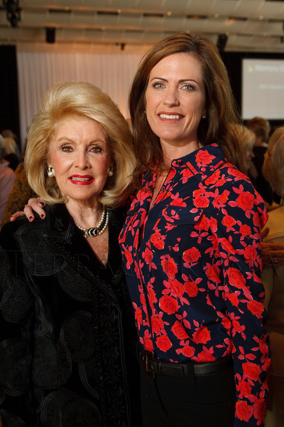 "(Denver, Colorado, Nov. 9, 2011)<br /> Dianne Huttner and Beth Bowlen Wallace.  The ""2011 Memories Lost & Found Luncheon,"" benefiting the Alzheimer's Association of Colorado, at The Denver Center for the Performing Arts, Seawell Ballroom, in Denver, Colorado, on Wednesday, Nov. 9, 2011.<br /> STEVE PETERSON"