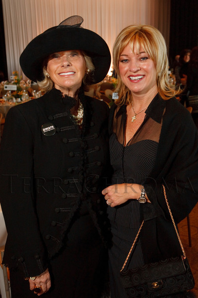 """(Denver, Colorado, Nov. 9, 2011)<br /> Susan Kiely and Denise Snyder.  The """"2011 Memories Lost & Found Luncheon,"""" benefiting the Alzheimer's Association of Colorado, at The Denver Center for the Performing Arts, Seawell Ballroom, in Denver, Colorado, on Wednesday, Nov. 9, 2011.<br /> STEVE PETERSON"""