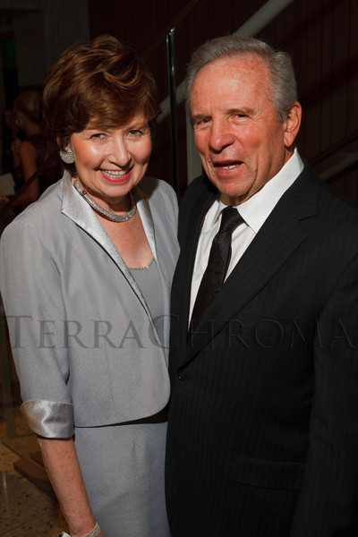 Dorothy and Ted Horrell.  Grand opening celebration of the Clyfford Still Museum at the Clyfford Still Museum in Denver, Colorado, Wednesday, Nov. 16, 2011.  Photo Steve Peterson, Special to the Denver Post