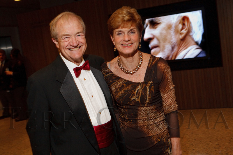 Curt and Nancy Freed.  Grand opening celebration of the Clyfford Still Museum at the Clyfford Still Museum in Denver, Colorado, Wednesday, Nov. 16, 2011.  Photo Steve Peterson, Special to the Denver Post