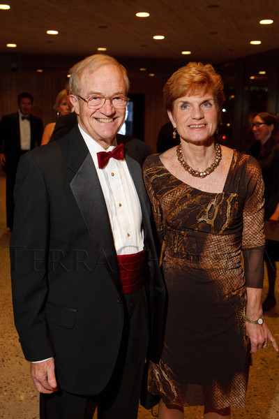 Nancy and Curt Freed.  Grand opening celebration of the Clyfford Still Museum at the Clyfford Still Museum in Denver, Colorado, Wednesday, Nov. 16, 2011.  Photo Steve Peterson, Special to the Denver Post