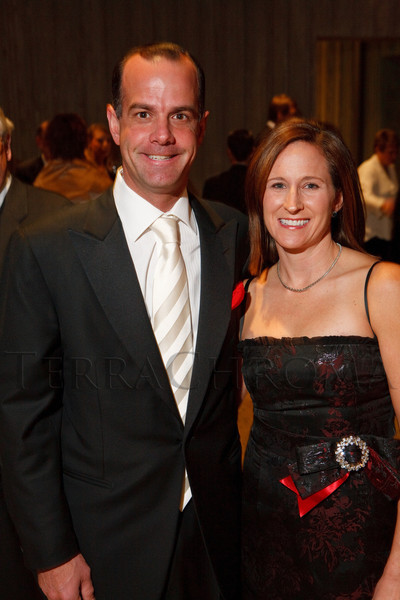 Christopher (CSM board of directors chair) and Sarah Hunt.  Grand opening celebration of the Clyfford Still Museum at the Clyfford Still Museum in Denver, Colorado, Wednesday, Nov. 16, 2011.  Photo Steve Peterson, Special to the Denver Post