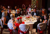 Table settings included candy canes and lollipops.  Presentation of the 2011 Sugarplums during the 2011 Sugarplum Ball, presented by the Colorado Ballet Auxiliary, at the Brown Palace Hotel & Spa in Denver, Colorado, on Friday, Nov. 25, 2011.<br /> Photo Steve Peterson