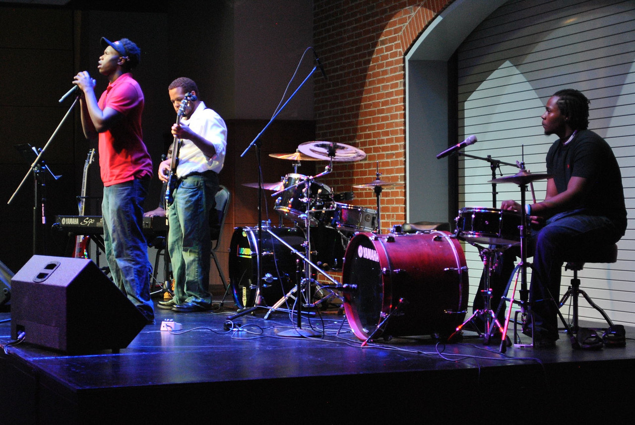 Godz Champions performing at Battle of the Bands.