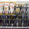 Tribune-Star/Jim Avelis<br /> Accomplished: The Northview band trophy case is nearly full. EIght state champoinship trophies and many other plaques and banners mark their storied past.