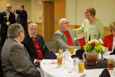 Half-Century Club induction and Jr. College Reunion; October 28, 2011.