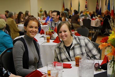 First Annual International Dinner; Fall 2011.
