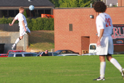 Family Weekend Soccer game versus Liberty University; October 2011.