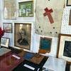 Memorabilia: Items related to the Poland Chapel were on display during Sunday's open house.