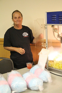 Popcorn and cotton candy were served at OctSOBERfest.