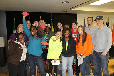 A Univ 111 class came to participate in OctSOBERfest.