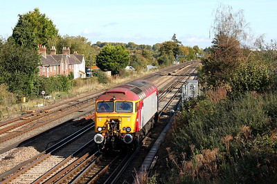 57303 Worting Junction 20/10/11 0Z57 Tonbridge to Eastleigh