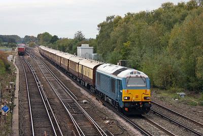 67003 Worting Junction 21/10/11 1Z92 Bournemouth to Basingstoke