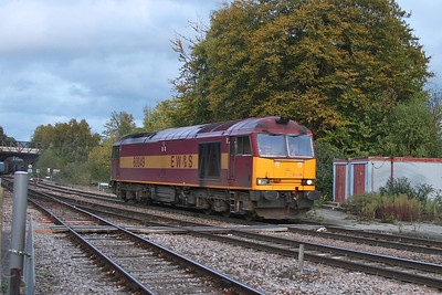 60049 Basingstoke 17/10/11 0O01 Scunthorpe to Eastleigh