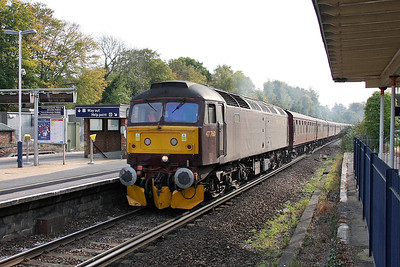 47760 Micheldever 23/10/11 5Z74 Poole to Southall ecs