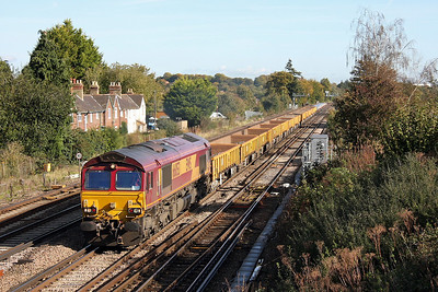 66053 Worting Junction 20/10/11 6O26 Hinksey to Eastleigh (normal service resumed)