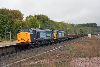37601 Micheldever 12/10/11 6O26 Hinksey to Eastleigh with 37611