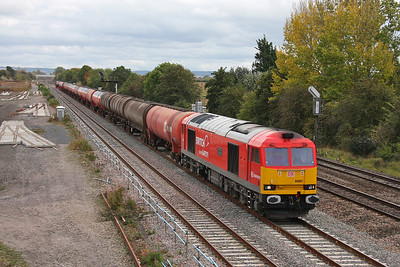 60007 Didcot 04/10/11 6B33 Theale to Robeston