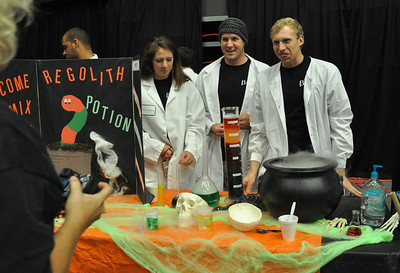 GWU students put on Octoberfest in the LYCC for local children to come and enjoy a Halloween alternative event.