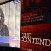 """Tribune-Star/Jim Avelis<br /> Local flavor: Lisa Phillips, history professor at Indiana State University, gets a little air time on the C-Span series """"The Contenders"""" a 14 episode series on presidential candidates that lost, but had great influence nonetheless."""