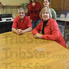 Tribune-Star/Jim Avelis<br /> Here to serve: Ron and dana Simons, along with Heather Rollins and Amanda Koerner will hold and open house next week for Next Step Recovery.