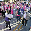 Survivors: Thousands of people participated in the annual Susan G. Komen Run for the Cure Saturday morning.
