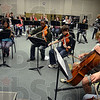 Tribune-Star/Jim Avelis<br /> Practice makes perfect: The Crossroads of America Youth Orchestra, composed of middle- and high-schoolers from the Wabash Valley, rehearses Wednesday night. They will perform in the 45th Contemporary Music Festival at Indiana State University.