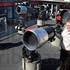 Tribune-Star/Jim Avelis<br /> Open house: Rick Ditteon stand in tehe oakley Observatory on teh rose-Hulman campus Tuesday afternoon. The school will host an open house Friday night, weather permitting.