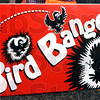 Crow ammo: Detail photo of box containing pyrotechnics used in moving birds.