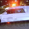 Tribune-Star/Jim Avelis<br /> Homecoming: A hearse bearing the body of Marine Lance Cpl. Thomas John Soeurt rolls down Wabash Avenue Tuesday night.