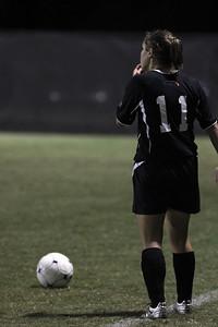 Megan Tremblay, 11, prepares to preform a direct kick.