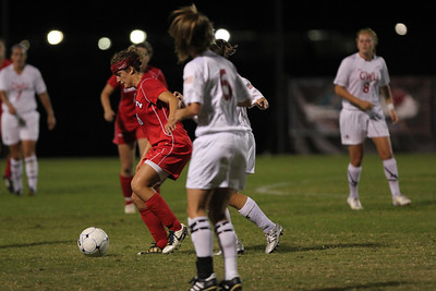 GWU Womens Soccer take on the Liberty Flames