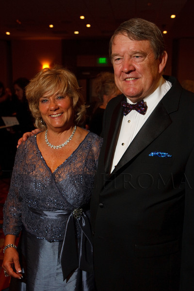 (Denver, Colorado, Oct. 1, 2011)<br /> Adrienne Ruston Fitzgibbons and Jack Fitzgibbons.  The Carousel Ball, presented by the Children's Diabetes Foundation at Denver, benefiting The Barbara Davis Center for Childhood Diabetes, at Denver Marriott City Center in Denver, Colorado, on Saturday, Oct. 1, 2011.<br /> STEVE PETERSON