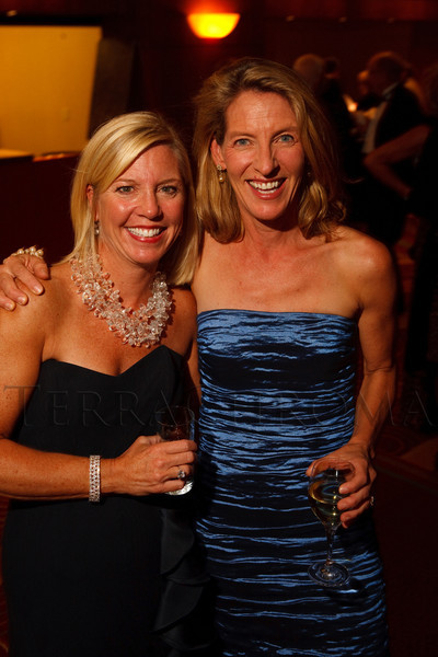 (Denver, Colorado, Oct. 1, 2011)<br /> Anne Hanson and Caroline Rassenfoss.  The Carousel Ball, presented by the Children's Diabetes Foundation at Denver, benefiting The Barbara Davis Center for Childhood Diabetes, at Denver Marriott City Center in Denver, Colorado, on Saturday, Oct. 1, 2011.<br /> STEVE PETERSON